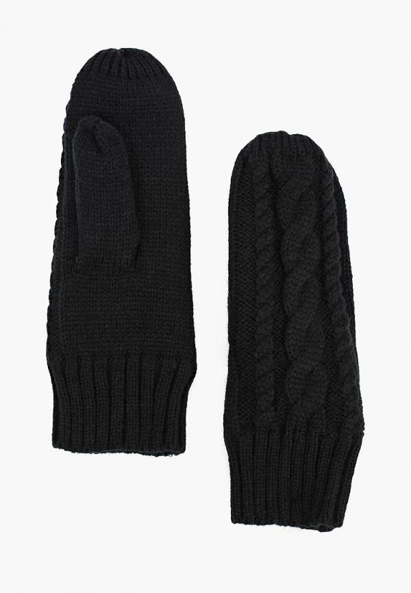 женские варежки modis, черные