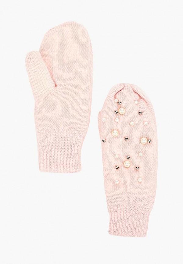женские варежки modis, розовые
