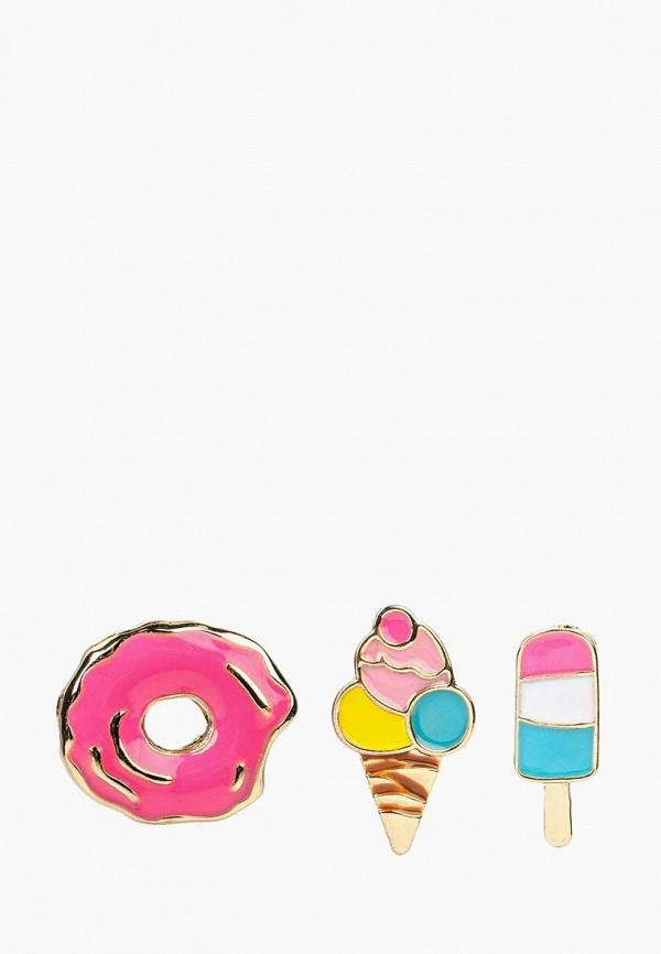 Фото - женские серьги, клипсы или пирсинг Modis разноцветного цвета