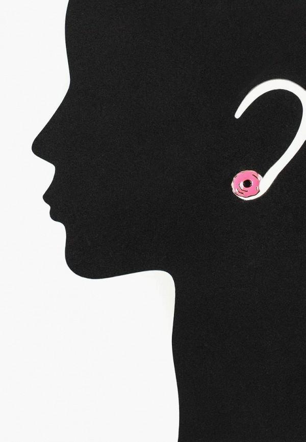 Фото 3 - женские серьги, клипсы или пирсинг Modis разноцветного цвета