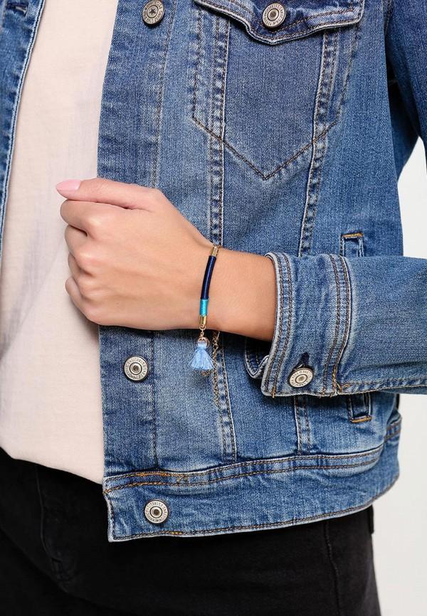 Фото 2 - женский браслет Modis синего цвета