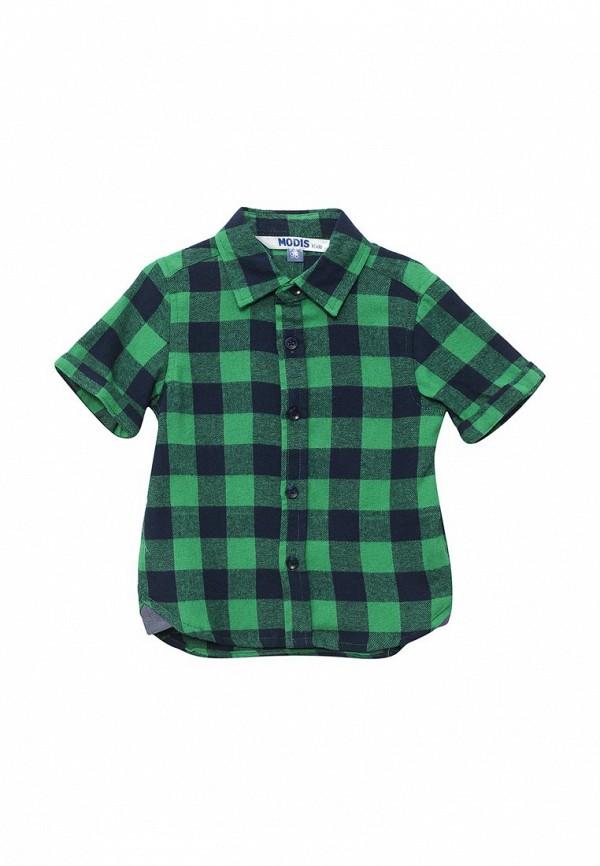 рубашка modis для мальчика, зеленая
