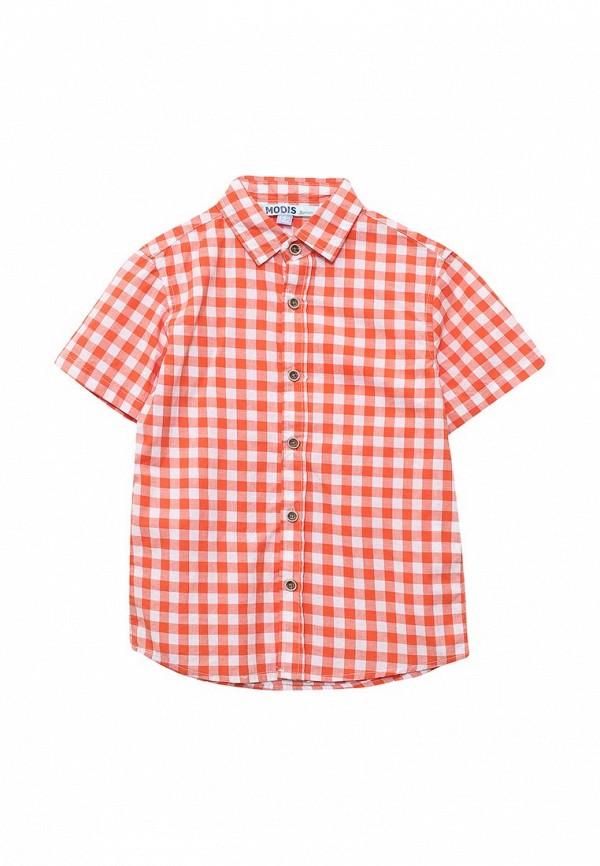 рубашка modis для мальчика, оранжевая