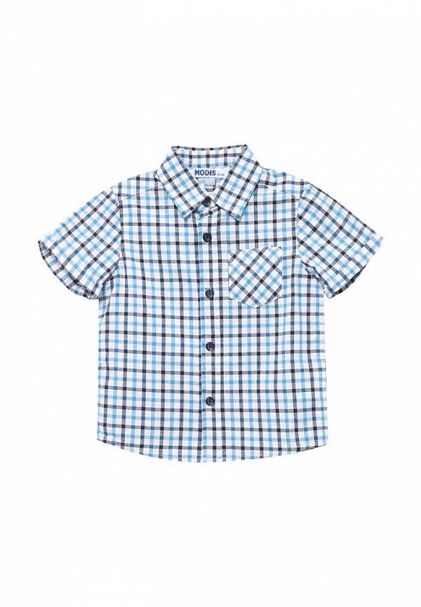 Купить Рубашка Modis, MO044EBBASU4, голубой, Весна-лето 2018