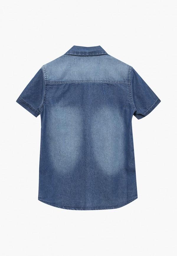 Рубашка для мальчика джинсовая Modis M181D00215 Фото 2