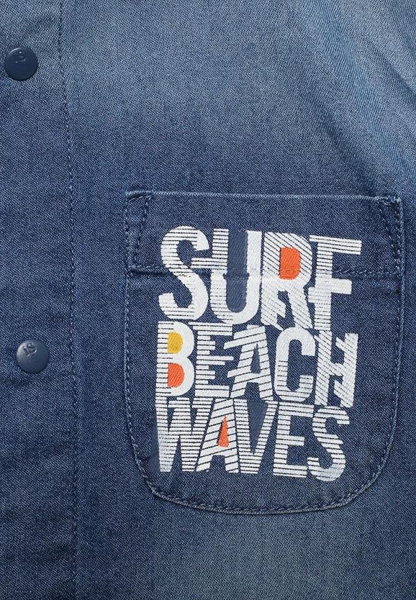 Рубашка для мальчика джинсовая Modis M181D00215 Фото 3