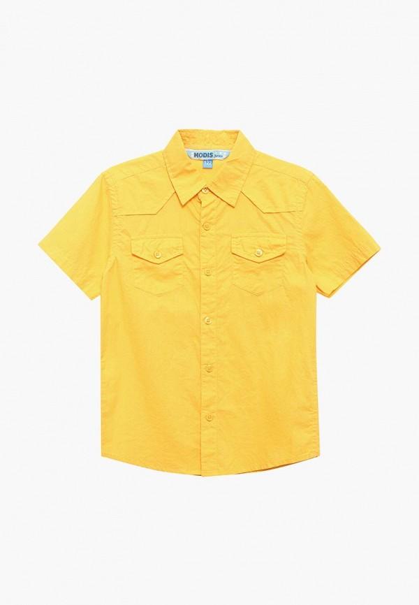рубашка modis для мальчика, желтая