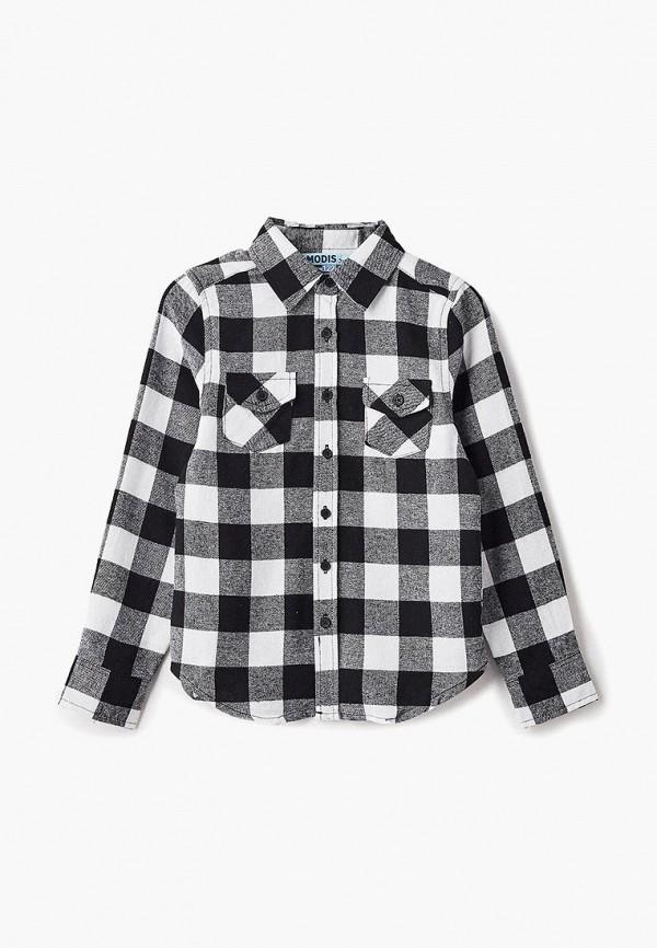 рубашка modis для мальчика, разноцветная