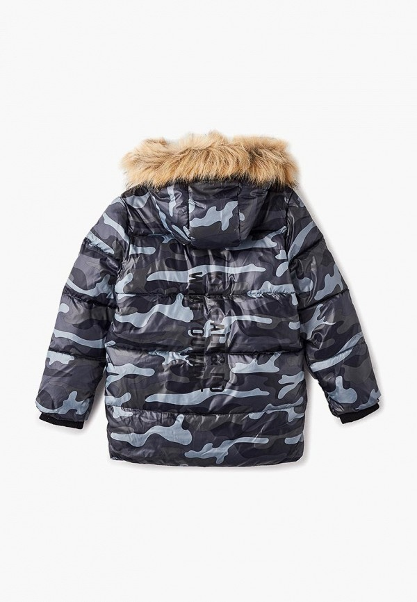 Куртка для мальчика утепленная Modis M182K00529 Фото 2