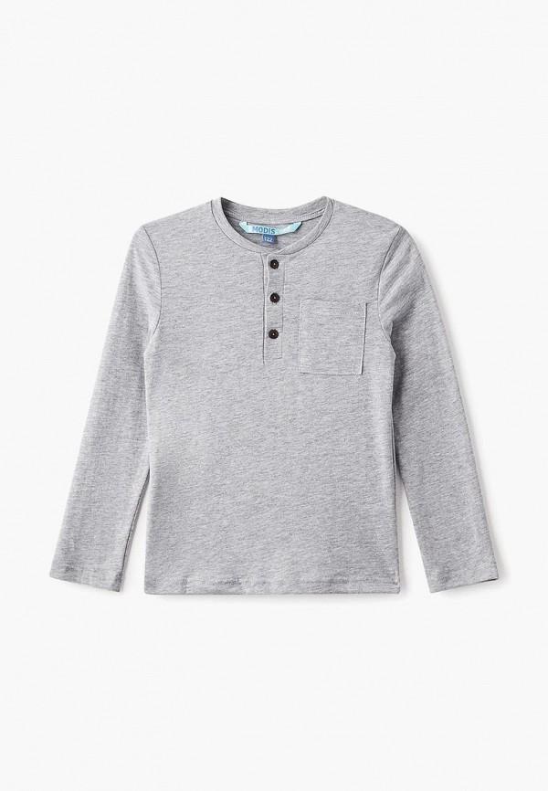 лонгслив modis для мальчика, серый
