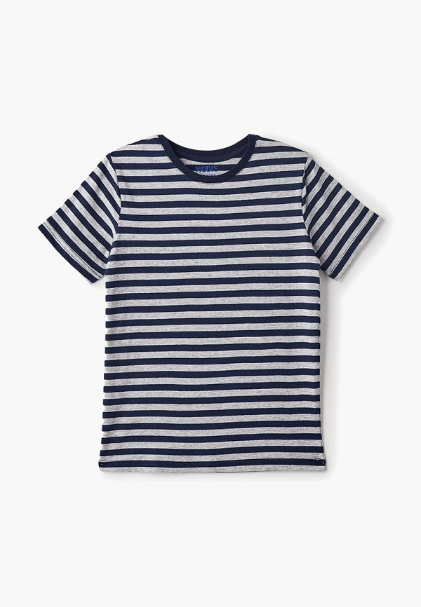 футболка с коротким рукавом modis для мальчика, синяя