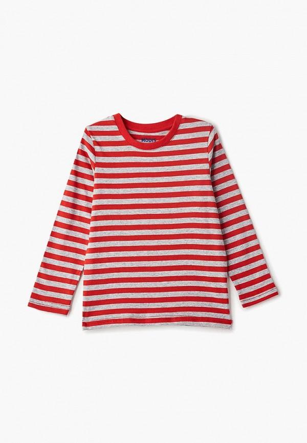 футболка с коротким рукавом modis для мальчика, красная