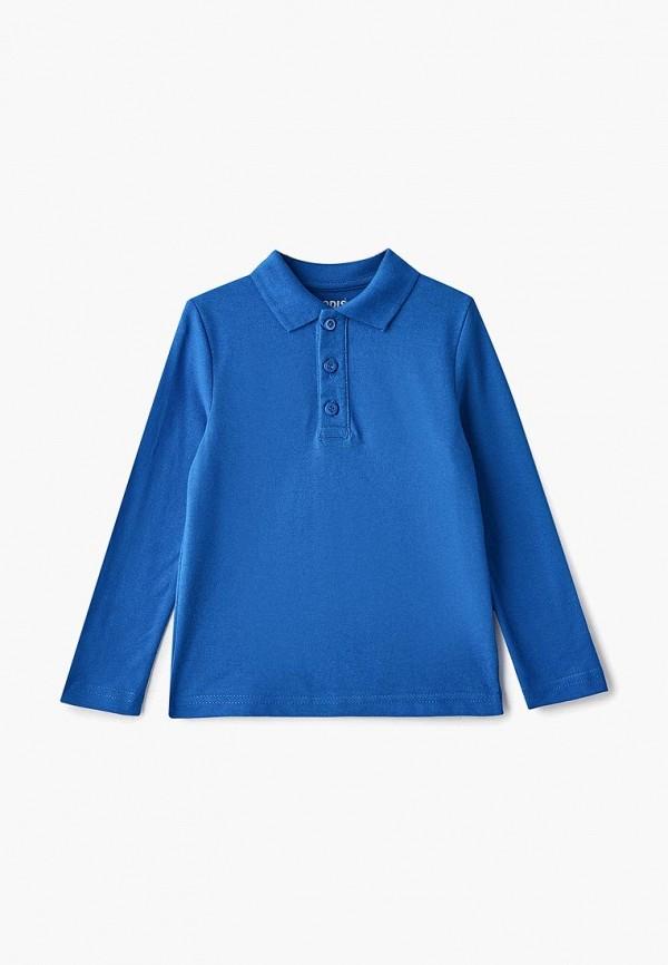 поло modis для мальчика, синее