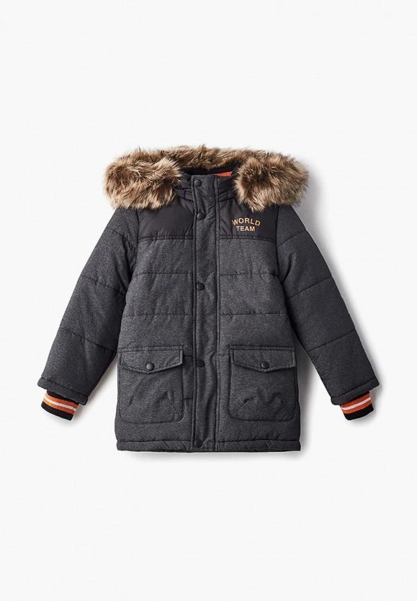 Купить Куртка утепленная Modis, mo044ebdcdp8, серый, Осень-зима 2018/2019