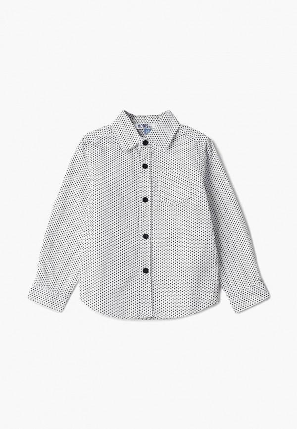 рубашка modis для мальчика, белая