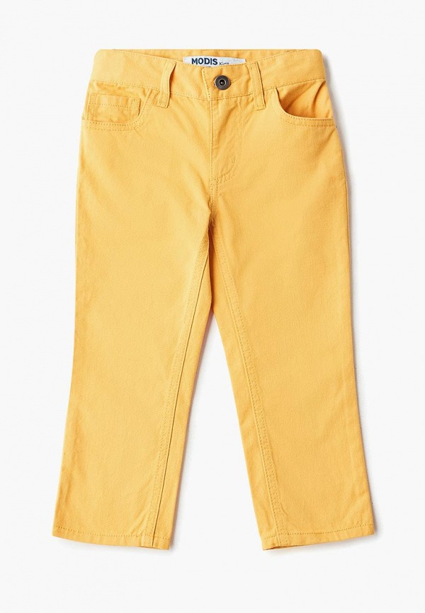 брюки modis для мальчика, желтые
