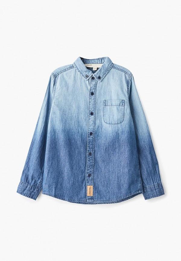 рубашка modis для мальчика, синяя