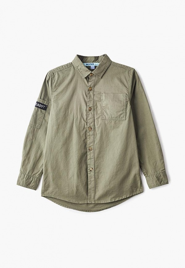 рубашка modis для мальчика, хаки