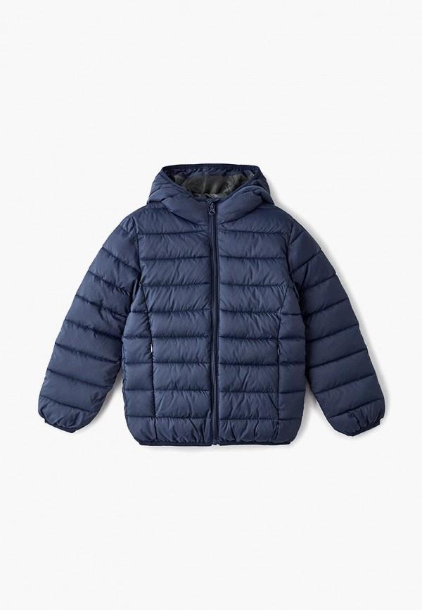 Куртка утепленная Modis Modis M191K00619 синий фото
