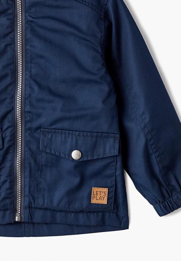 Фото 3 - Куртку Modis синего цвета