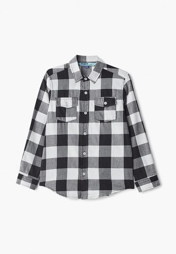 рубашка modis для мальчика, черная