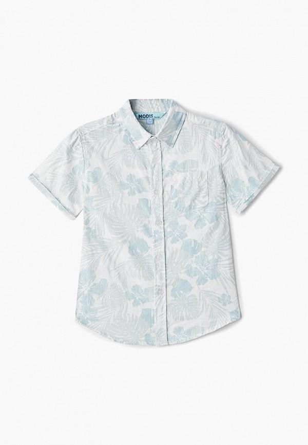 рубашка modis для мальчика, бирюзовая