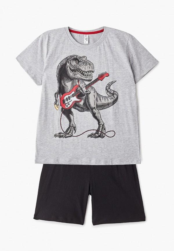 пижама modis для мальчика, разноцветная