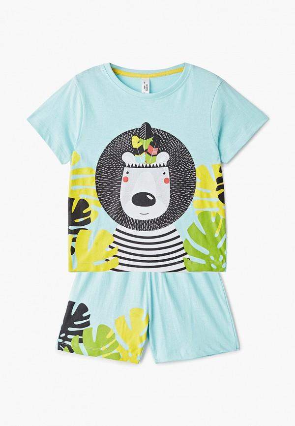пижама modis для мальчика, бирюзовая