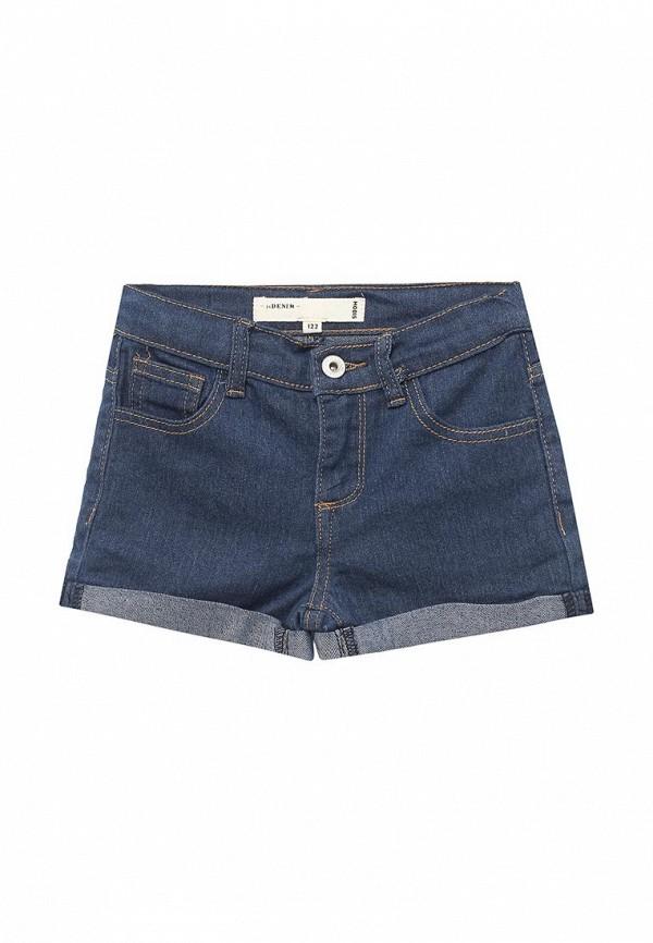 шорты modis для девочки, синие