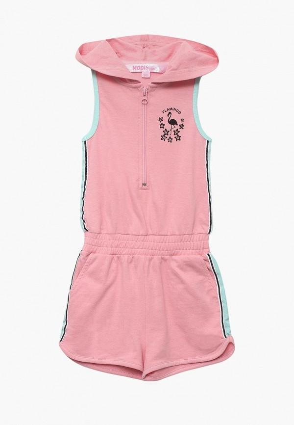 комбинезон modis для девочки, розовый