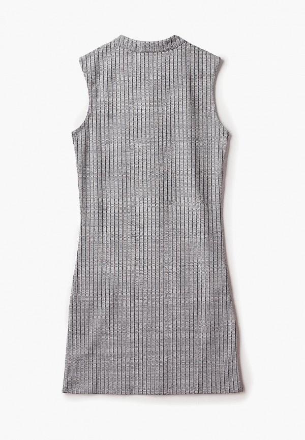 Фото 2 - Платье Modis серого цвета