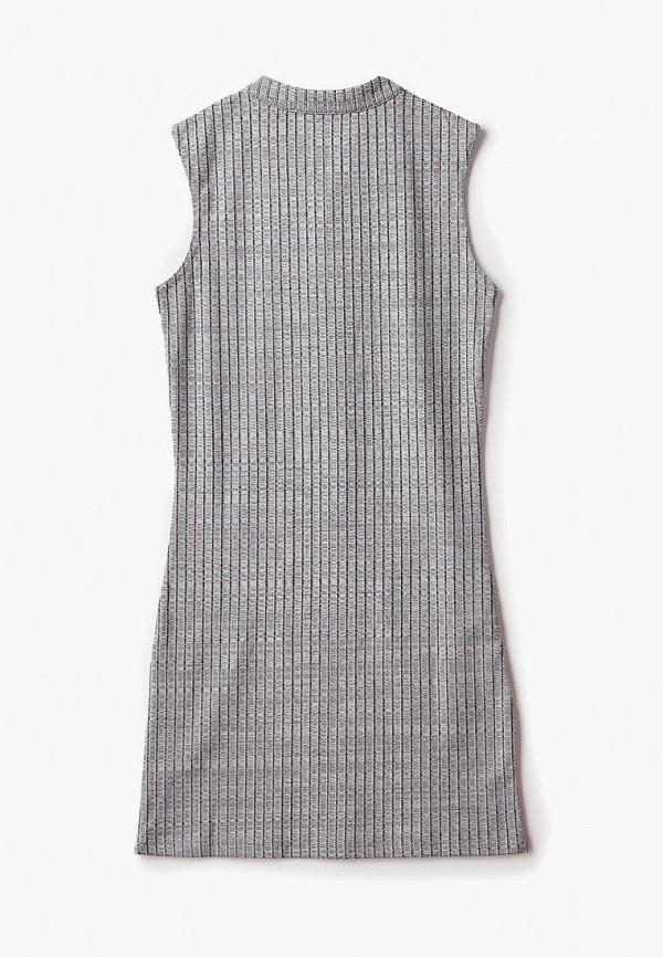 Фото 5 - Платье Modis серого цвета