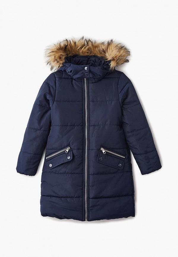 куртка modis для девочки, синяя