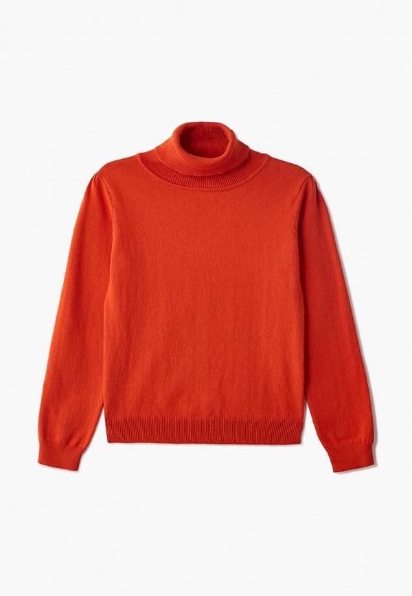 водолазка modis для девочки, оранжевая