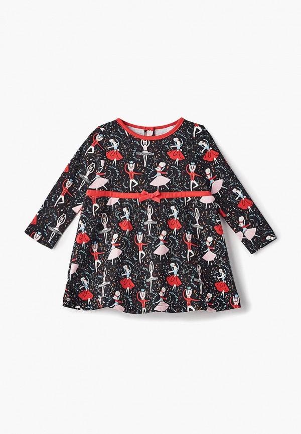 повседневные платье modis для девочки, черное