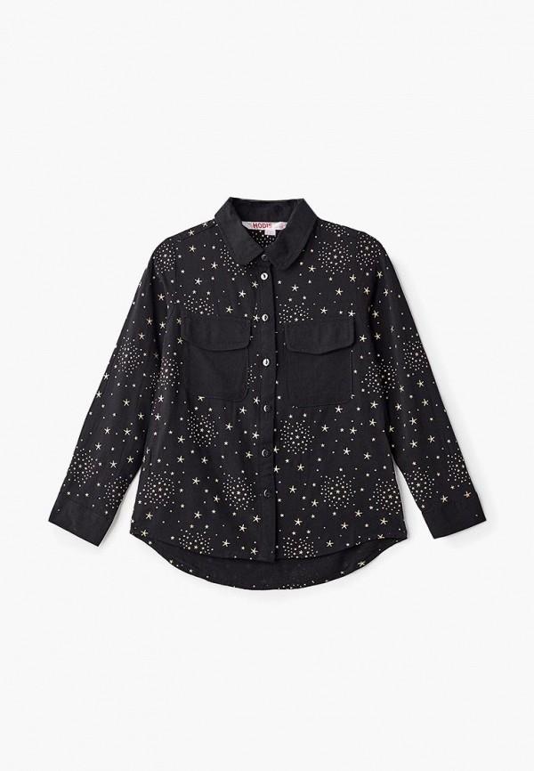 блузка modis для девочки, черная