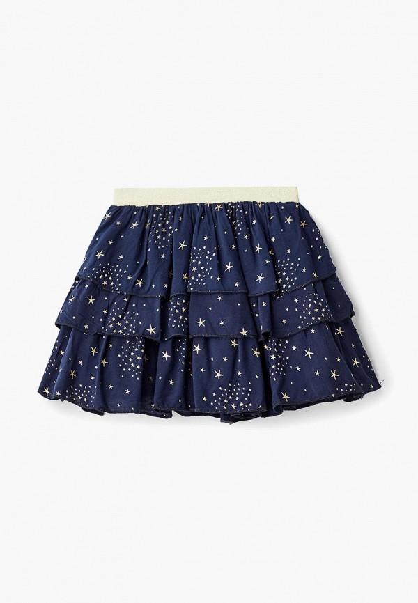 юбка modis для девочки, синяя