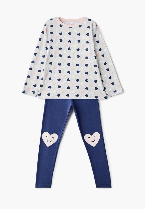 пижама modis для девочки, разноцветная