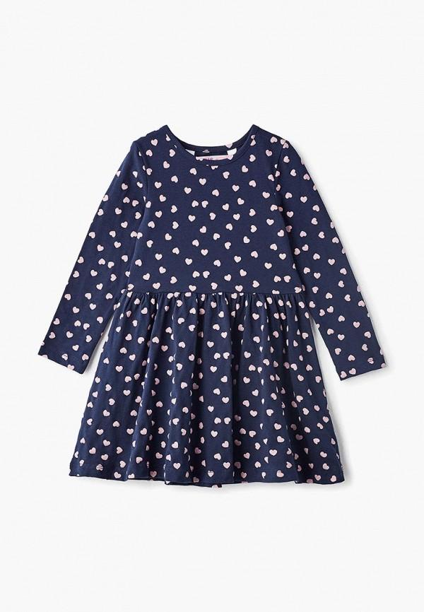 повседневные платье modis для девочки, синее
