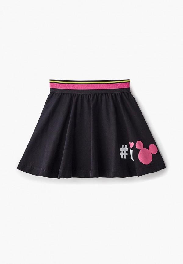 юбка modis для девочки, черная