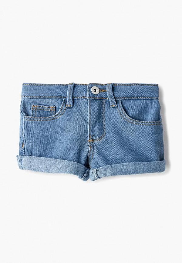шорты modis для девочки, голубые