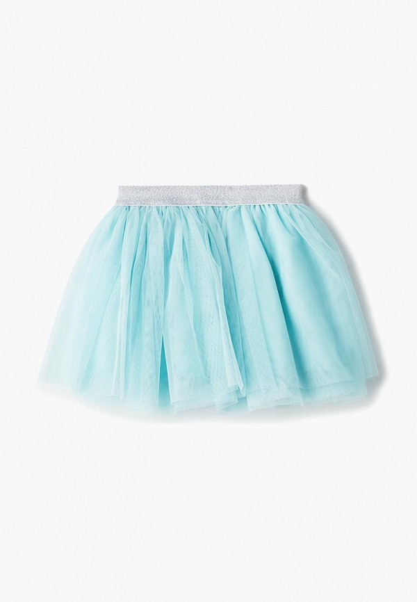 юбка modis для девочки, голубая
