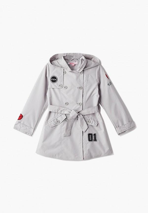 Фото - пальто или плащ для девочки Modis серого цвета