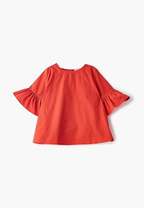 блузка modis для девочки, красная