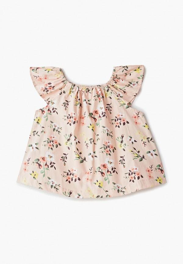 блузка modis для девочки, розовая