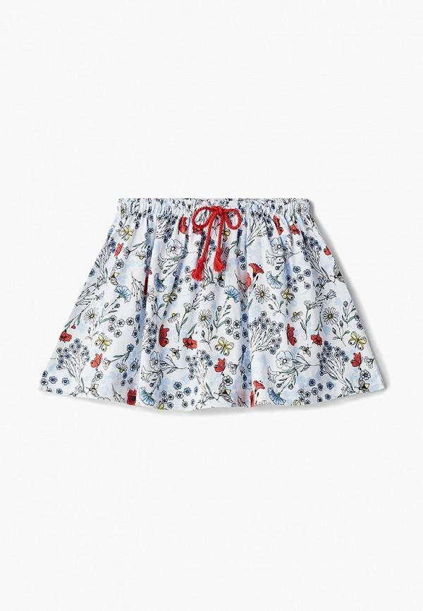 юбка modis для девочки, белая