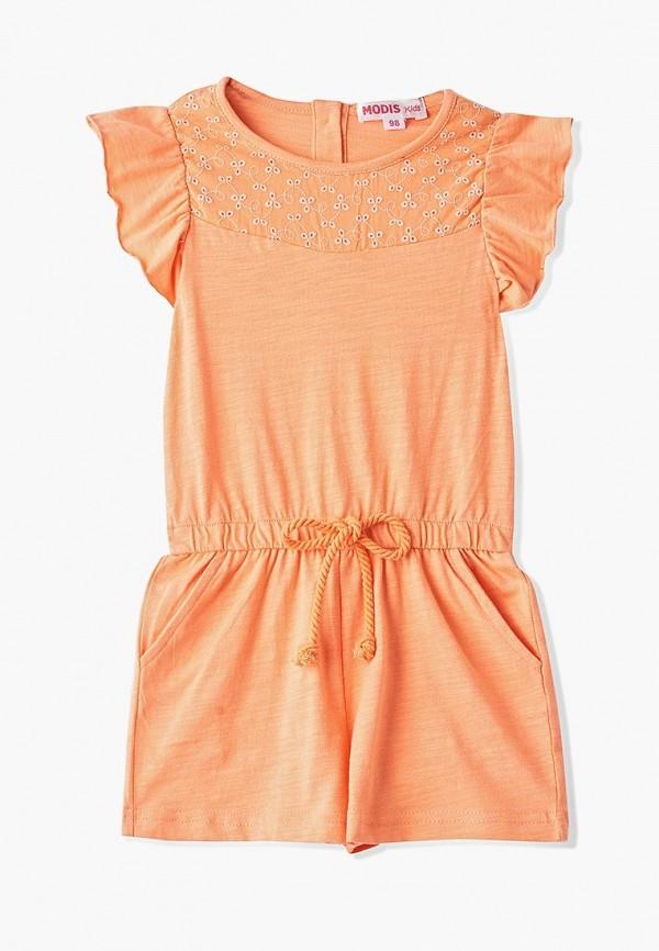 комбинезон modis для девочки, оранжевый