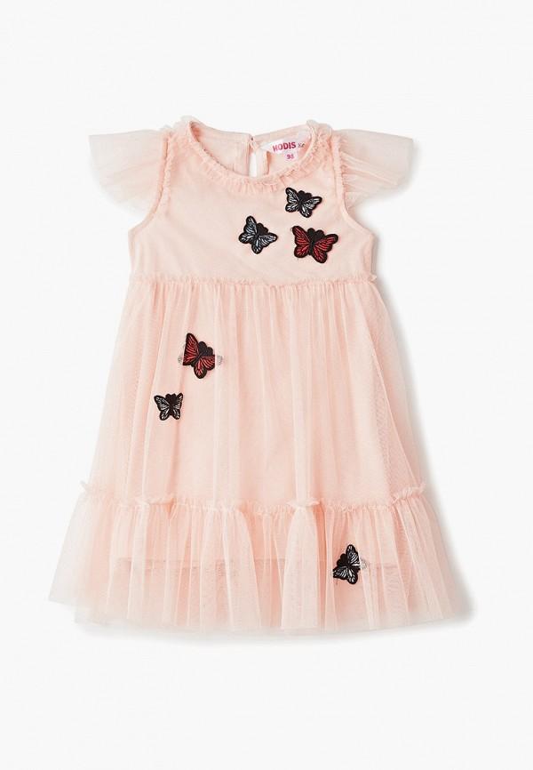 платье modis для девочки, розовое