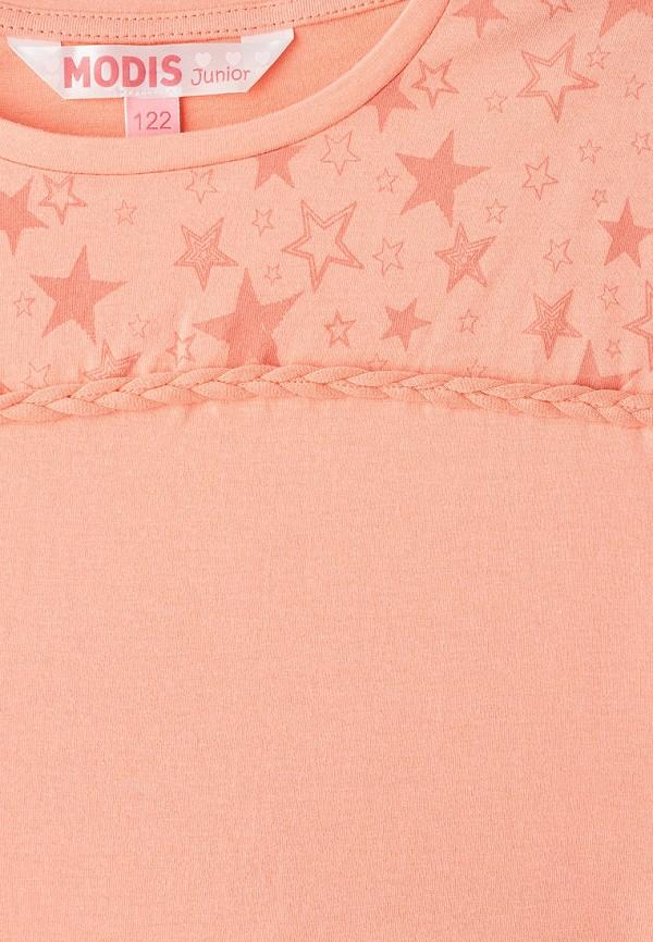 Фото 3 - Футболку Modis розового цвета