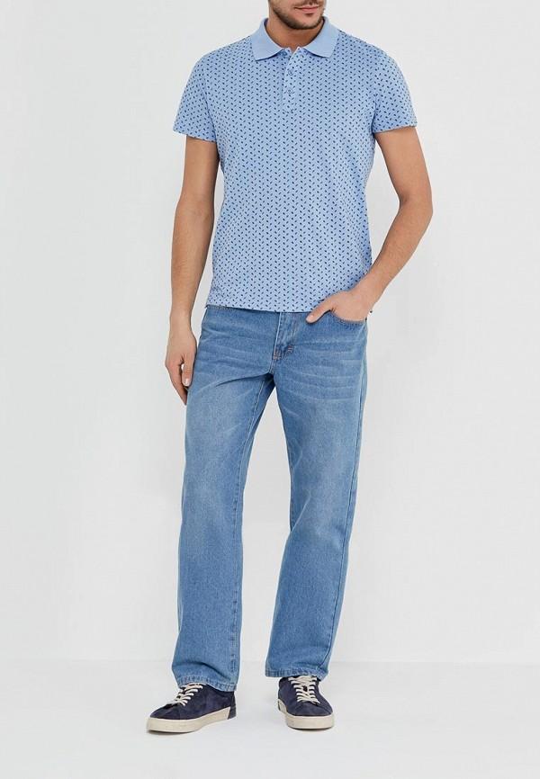 Фото 2 - мужские джинсы Modis голубого цвета